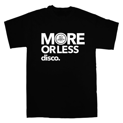 T-shirt More or Less Disco