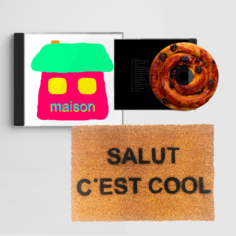 Pack CD Maison + Paillasson