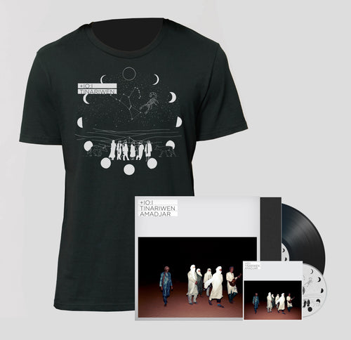 AMADJAR FULL PACK - LP Signed Edition + CD + T-Shirt