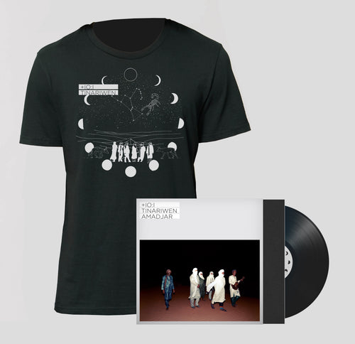 AMADJAR PACK - LP Booklet Signed Edition + T-Shirt