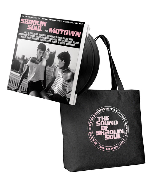 SHAOLIN SOUL PLAYS MOTOWN - VINYL & TOTE BAG BUNDLE