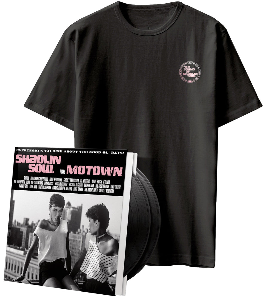 SHAOLIN SOUL PLAYS MOTOWN - VINYL & T-SHIRT BUNDLE