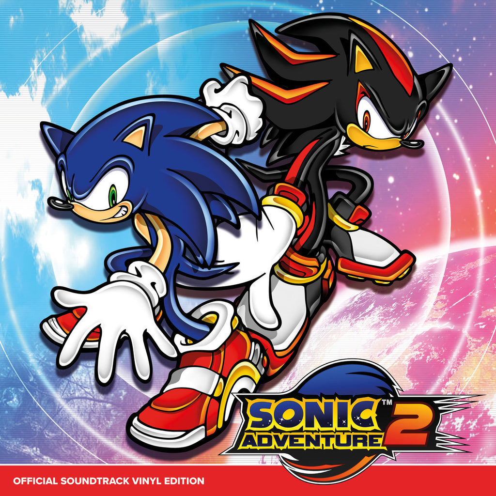 SONIC ADVENTURE 2 Official Soundtrack Vinyl Edition