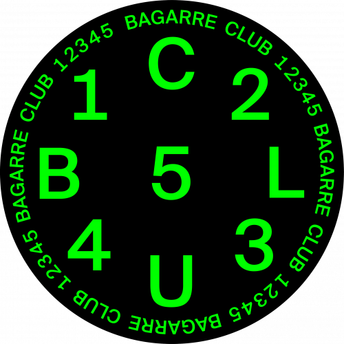 CLUB 12345 - PATCH