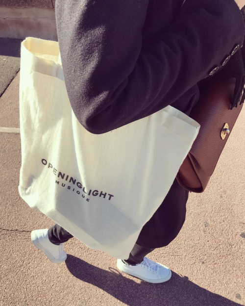 OPENING LIGHT - Tote bag