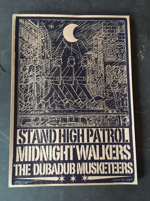 "Affiche ""Midnight Walkers"""