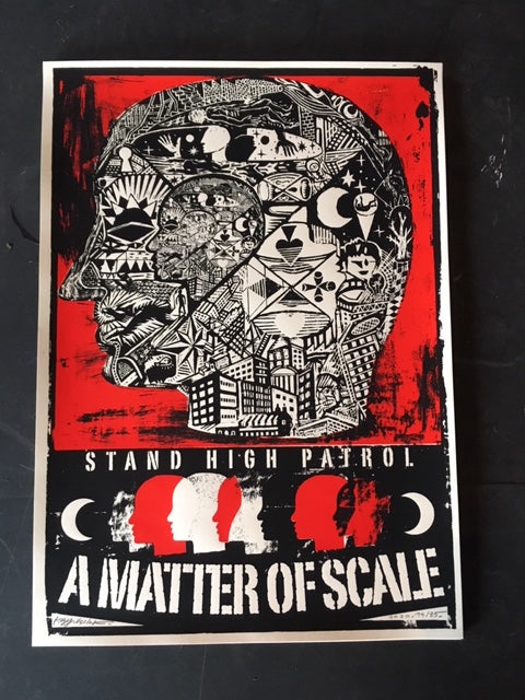 "Affiche ""A Matter Of Scale"""