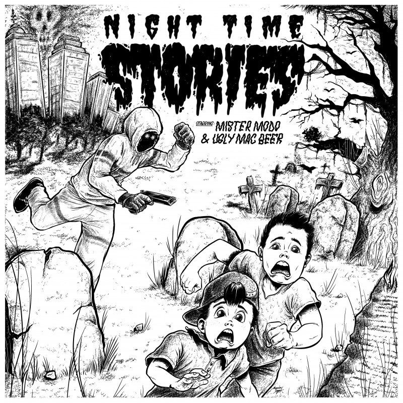 "Night Time Stories LTD 500 copies ""Color yourself"""