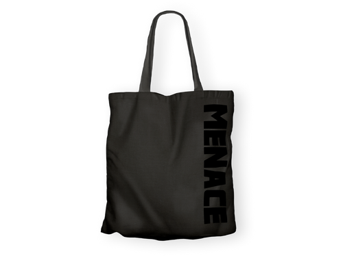 Totebag Menace Noir