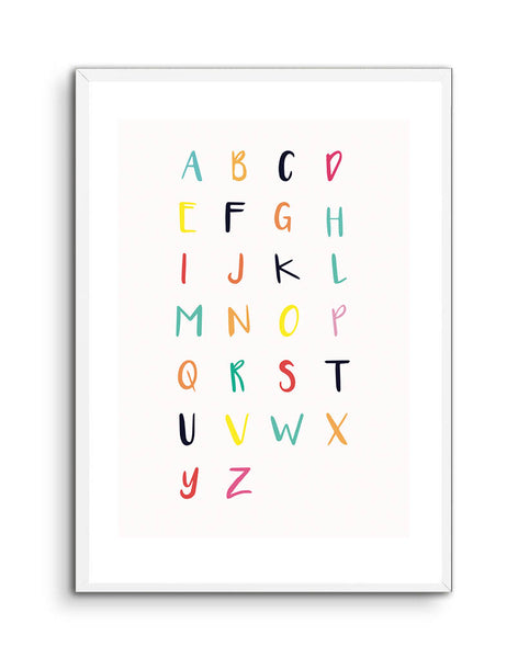 Alphabet in Colour