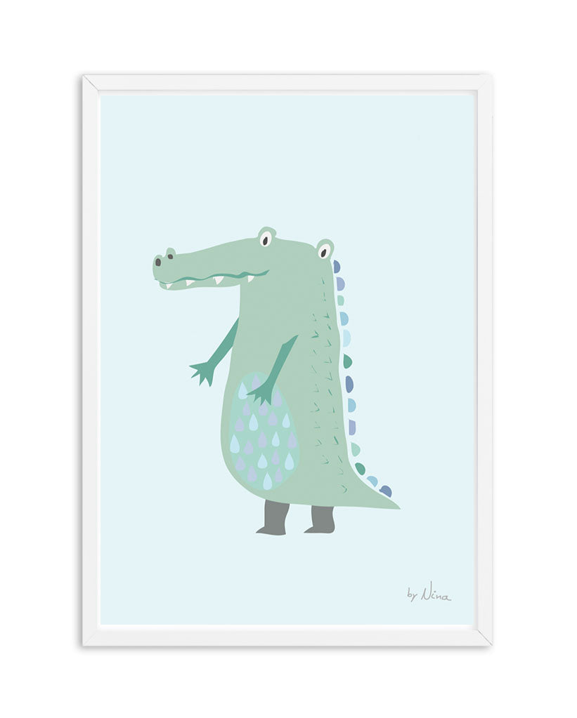 Baby Crocodile - Blue