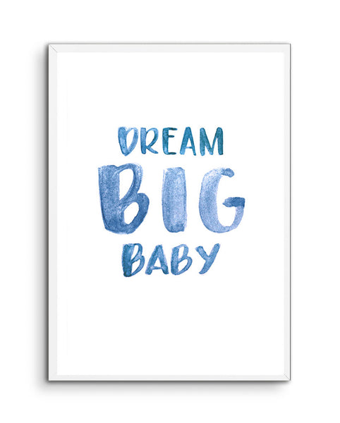 Dream Big Baby Portrait
