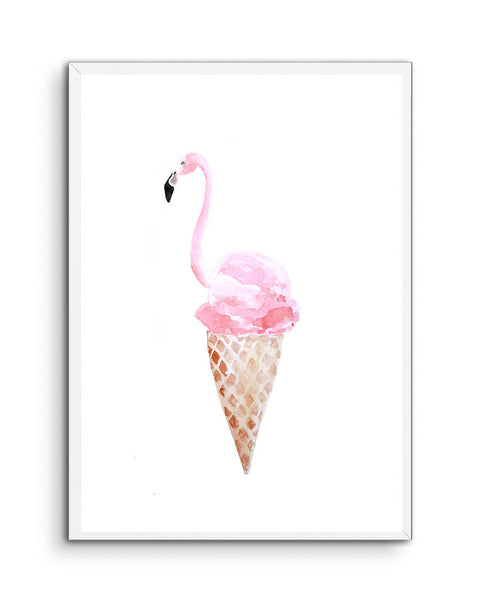 Flamingo Ice-cream