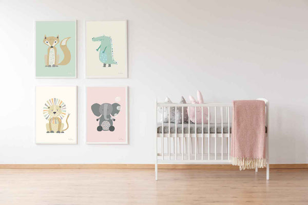 Set of Baby Animals by 4