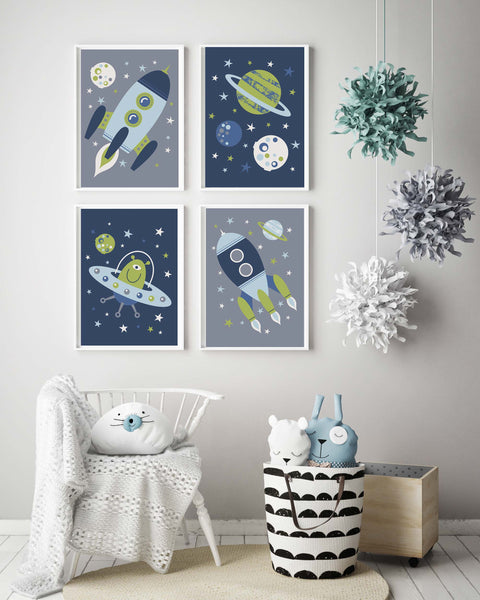 Set of 4 Space