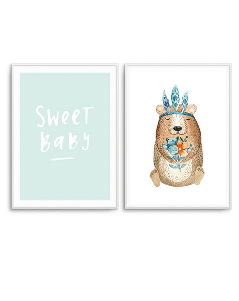 Sweet Baby & Woodland Bear
