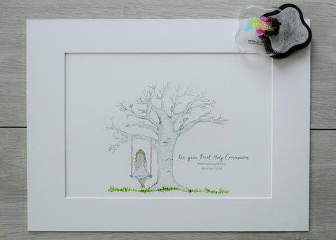 Communion Girl Keepsake