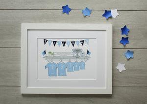 Jersey Family Prints - Dublin Champions Edition
