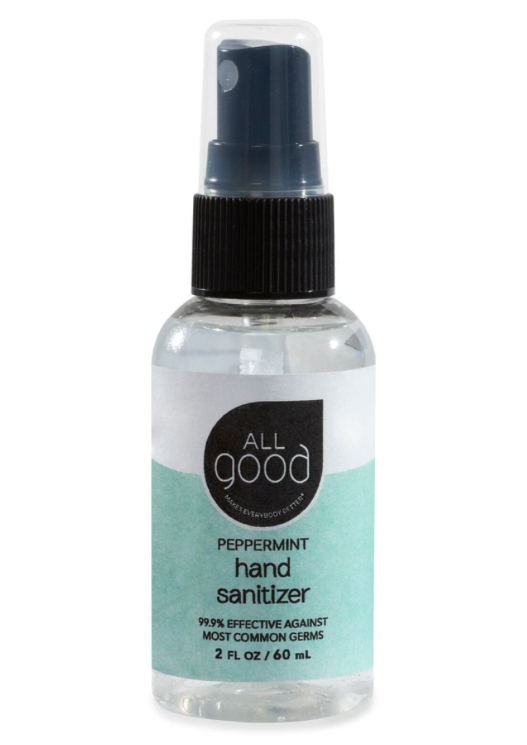 All Good Peppermint Hand Sanitizer