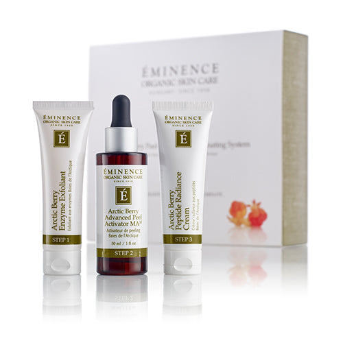 Arctic Berry Peel & Peptide Illuminating System (3-Step Treatment)