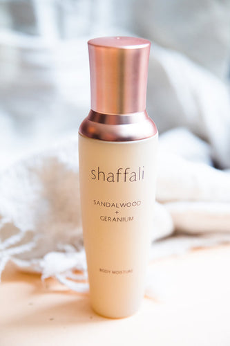 Shaffali Sandalwood + Geranium Body Moisture