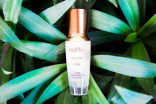 Shaffali Crystal + Rose Aura Amplification Facial Mist
