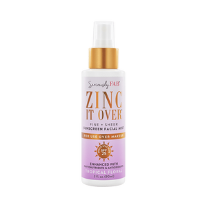 Zinc it Over Tropical Floral Sunscreen Mist