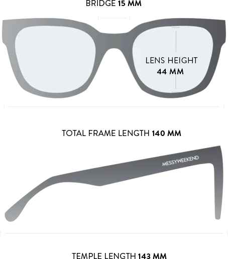 liv sunglasses measurements