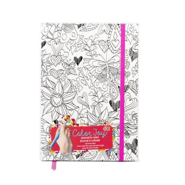 Color Joy Flower Journal