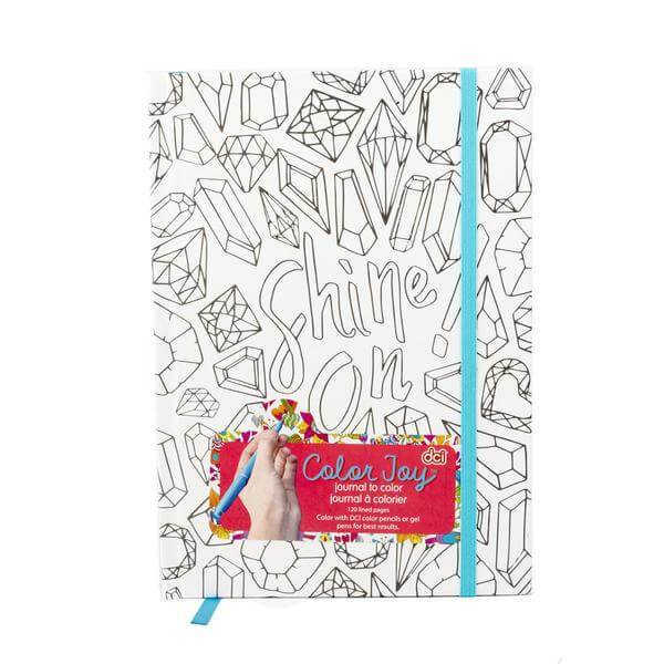 Color Joy Jeweled Journal