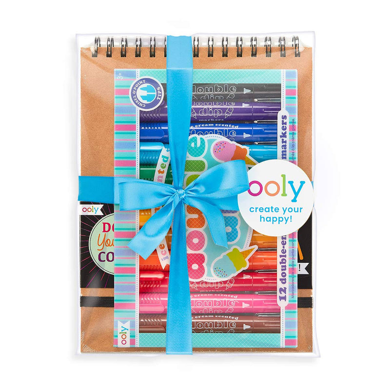 Ooly Scented Doodlers Coloring Gift Set
