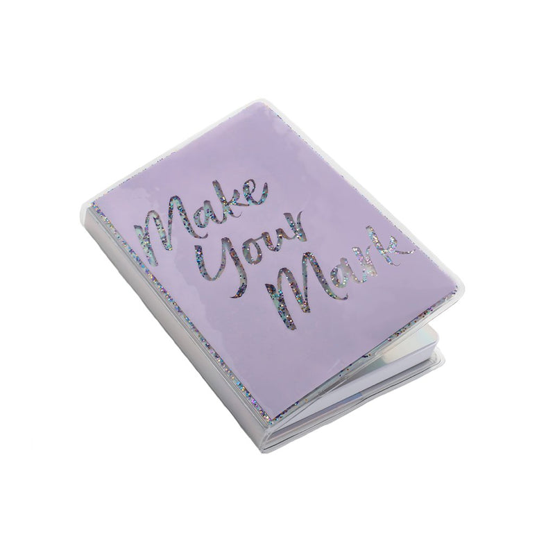 Make Your Mark Glitter Journal