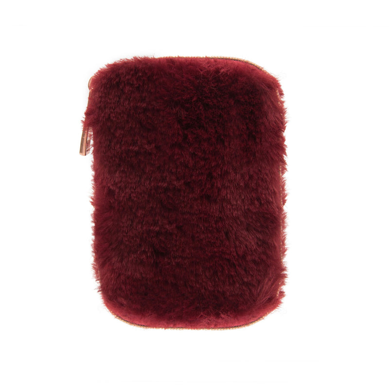Burgundy Ear Bud Case