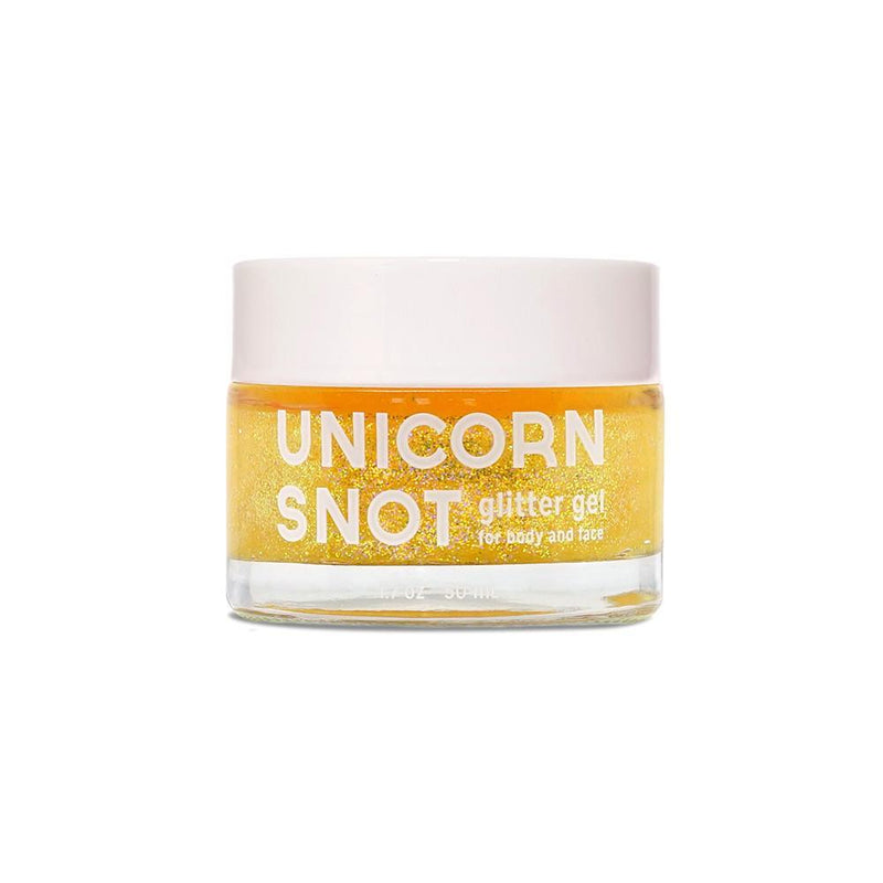 Unicorn Snot Yellow Glitter Gel