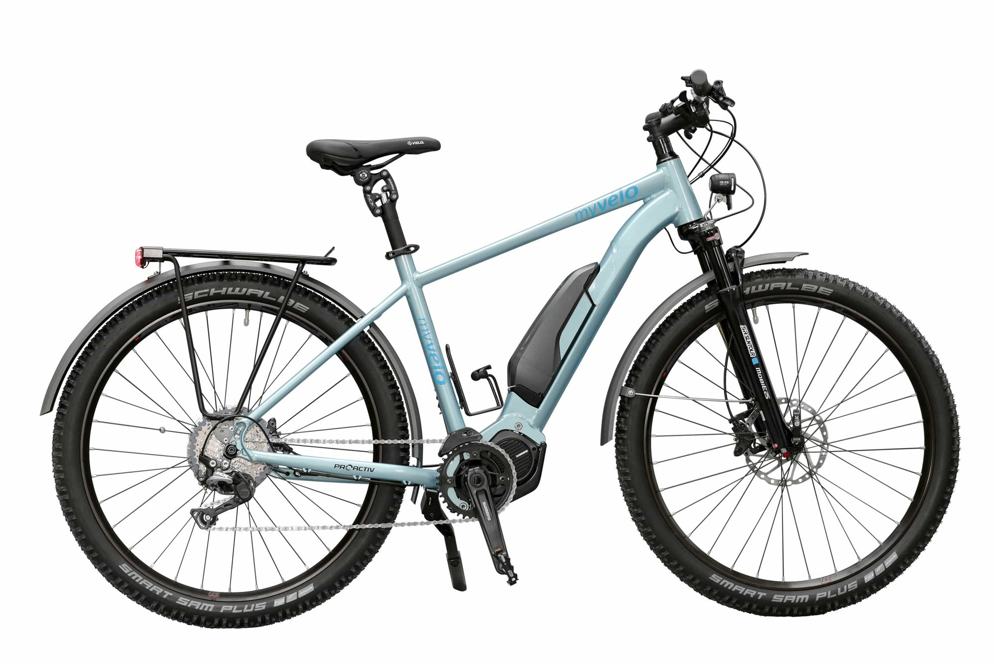 myvélo E MTB Himalaya Equipped Shimano Steps E8000 Ice Blue - myvelo.de