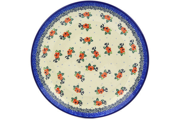 Polish Pottery 10½-inch Dinner Plate Pasadena Delight