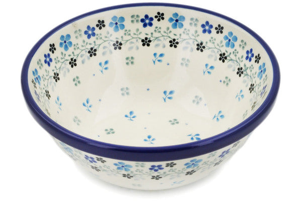 "Polish Pottery 6"" Bowl Bright Day"