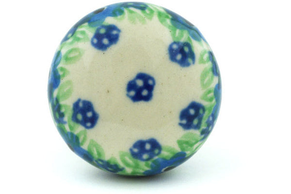 Polish Pottery Drawer knob 1-1/2 inch Spring Surprise