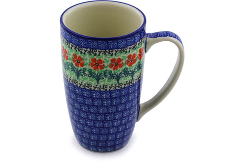 Polish Pottery 15 oz Mug Maraschino