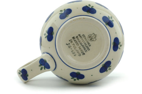 Polish Pottery 16 oz Bubble Mug Wild Blueberry