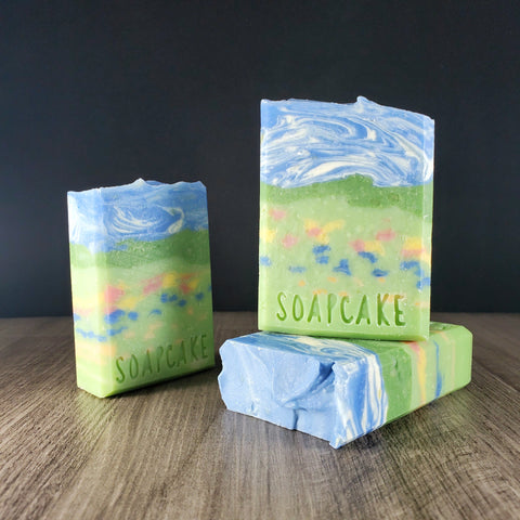 Wildflower Fields & Honey Soap- Limited Edition