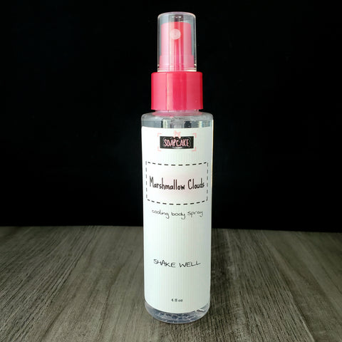Marshmallow Clouds Cooling Body Spray