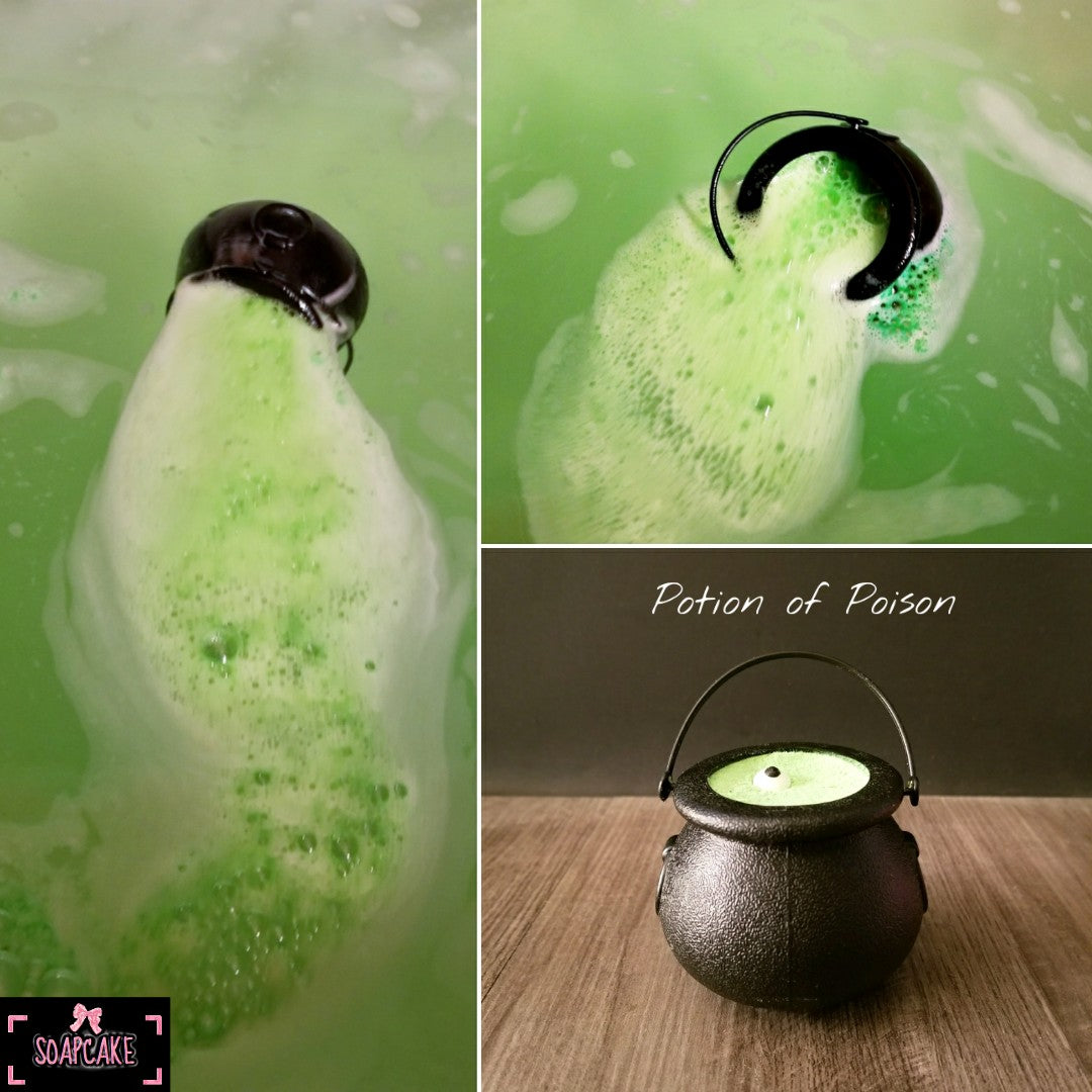 Potion of Poison Bath Bomb