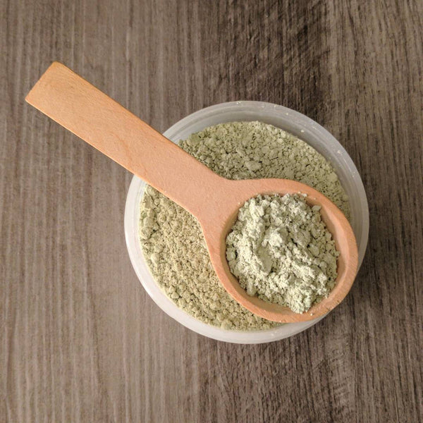 Matcha + Mud Dry Face Mask
