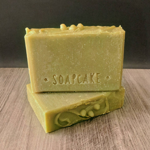 Cedar & Saffron Hemp Soap