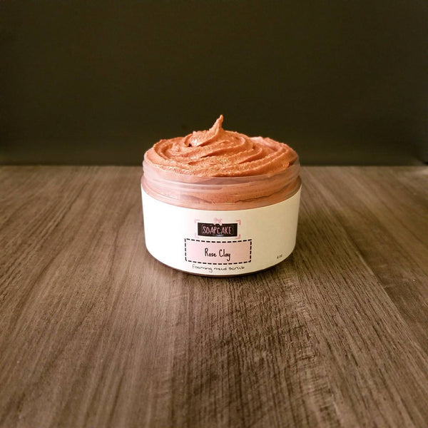 Rose Clay Mud Scrub