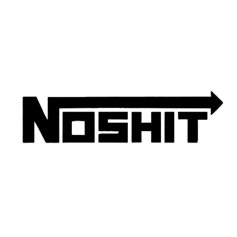 15*3.5Cm Nosh*t Sticker - Stickers