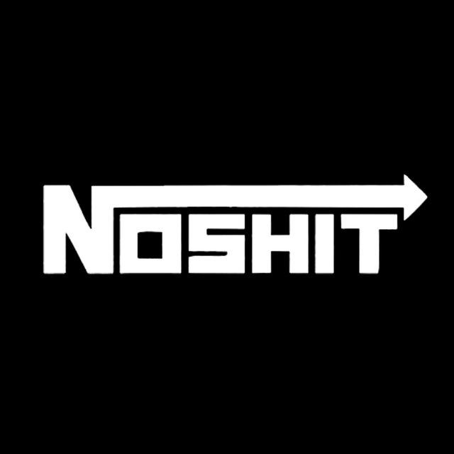 15*3.5Cm Nosh*t Sticker - Silver - Stickers
