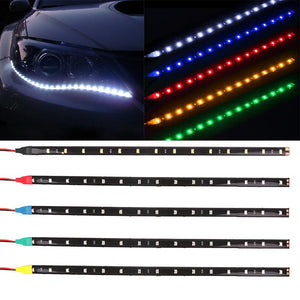Waterproof Decorative Flexible Led Strip Highpower 12V 30Cm 15Sm Daytime Running Light - Lighting