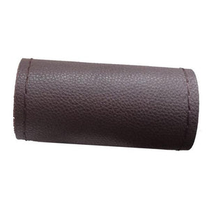 Diy Steering Wheel Covers/ Soft Fiber Leather - Brown018 - Interior
